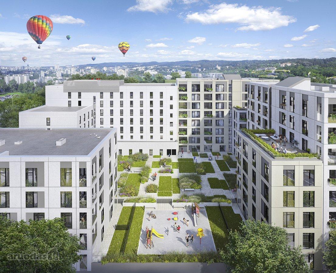 Vilnius, Senamiestis, Rinktinės g., 3 kambarių butas