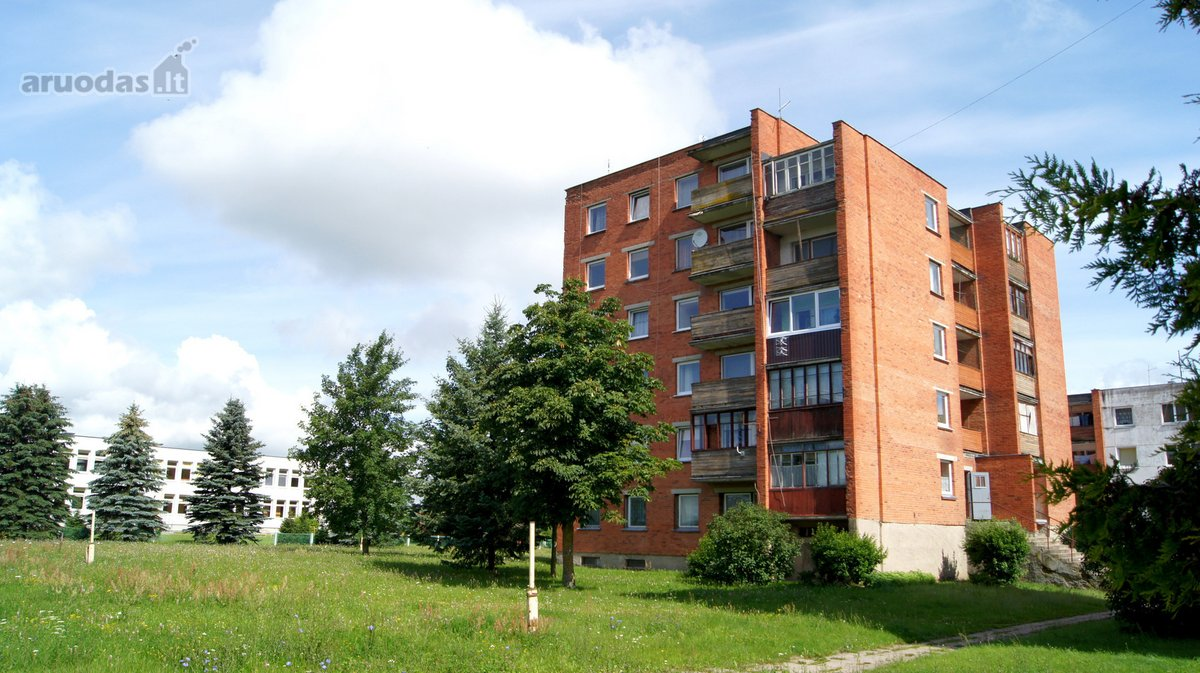 Raseinių r. sav., Ariogalos m., Verdėlupio g., 3 kambarių butas