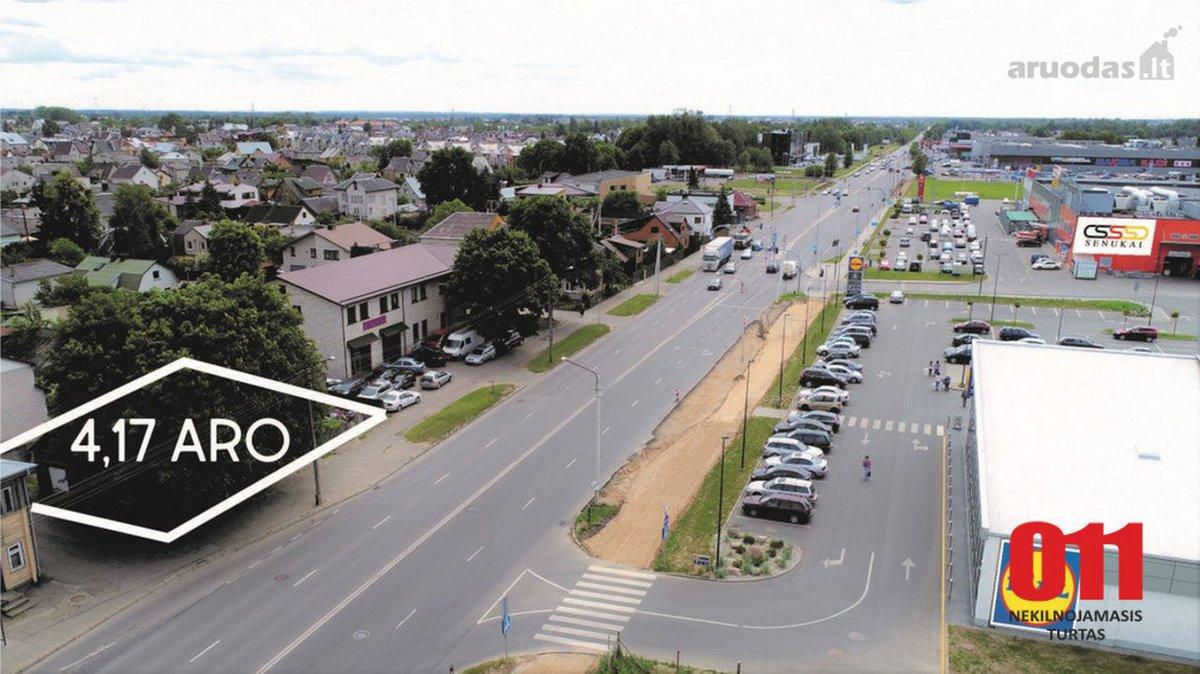 Kaunas, Aleksotas, Veiverių g., komercinės paskirties sklypas