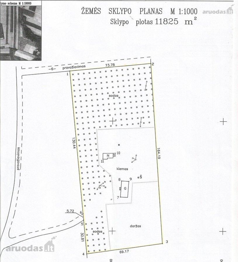 Šalčininkų r. sav., Akmenynės k., namų valdos paskirties sklypas