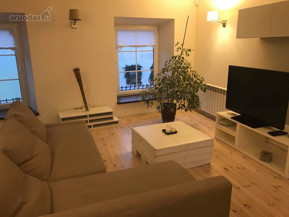 Vilnius, Senamiestis, Literatų g., 2 kambarių buto nuoma