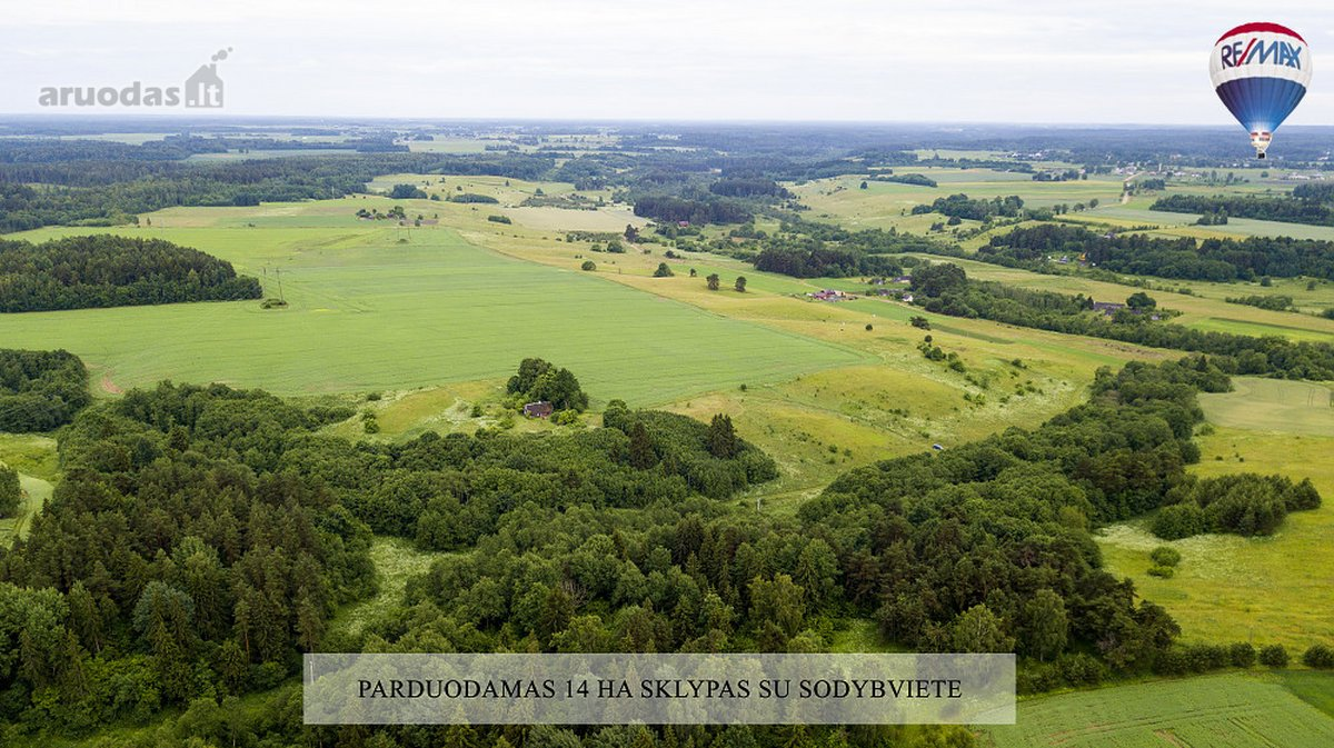 Šiaulių r. sav., Juškaičių II k., namų valdos, žemės ūkio, miškų ūkio paskirties sklypas