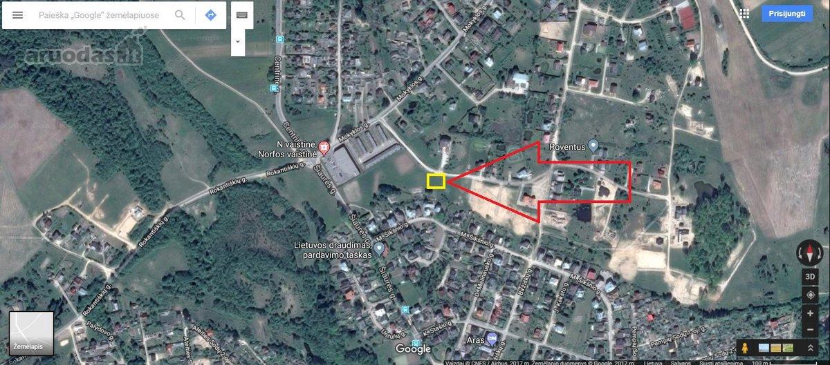 Vilnius, Galgiai, Šiaurės g., namų valdos paskirties sklypas