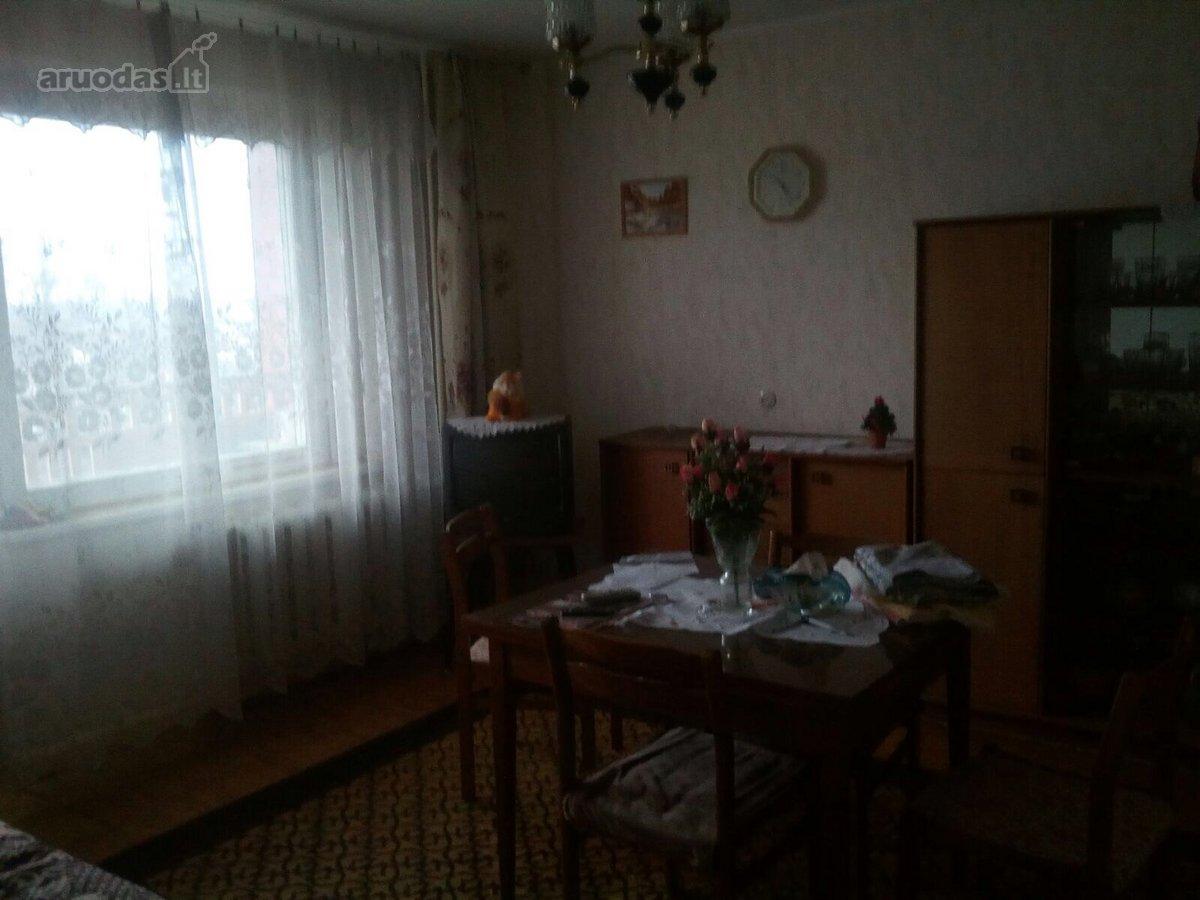 Zarasų m., Vilniaus g., 2 kambarių butas