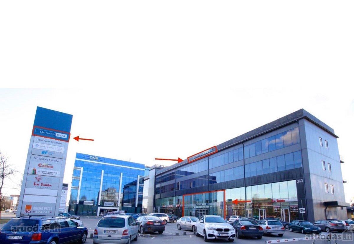 Kaunas, Kalniečiai, Savanorių pr., biuro, prekybinės, paslaugų, kita paskirties patalpos