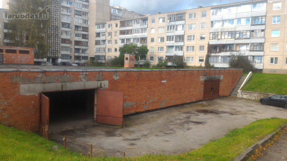 Vilnius, Karoliniškės, požeminis garažas