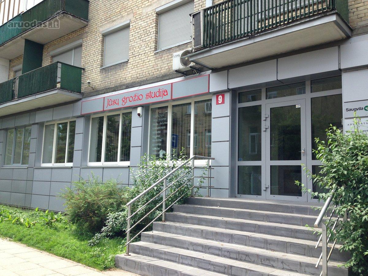 Vilnius, Naujamiestis, Algirdo g., prekybinės, paslaugų paskirties patalpos nuomai