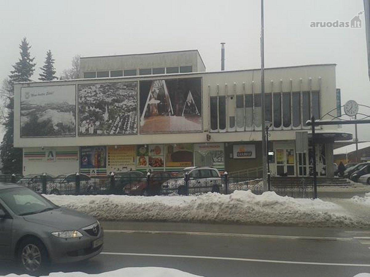 Šilalės m., J. Basanavičiaus g., prekybinės paskirties patalpos nuomai