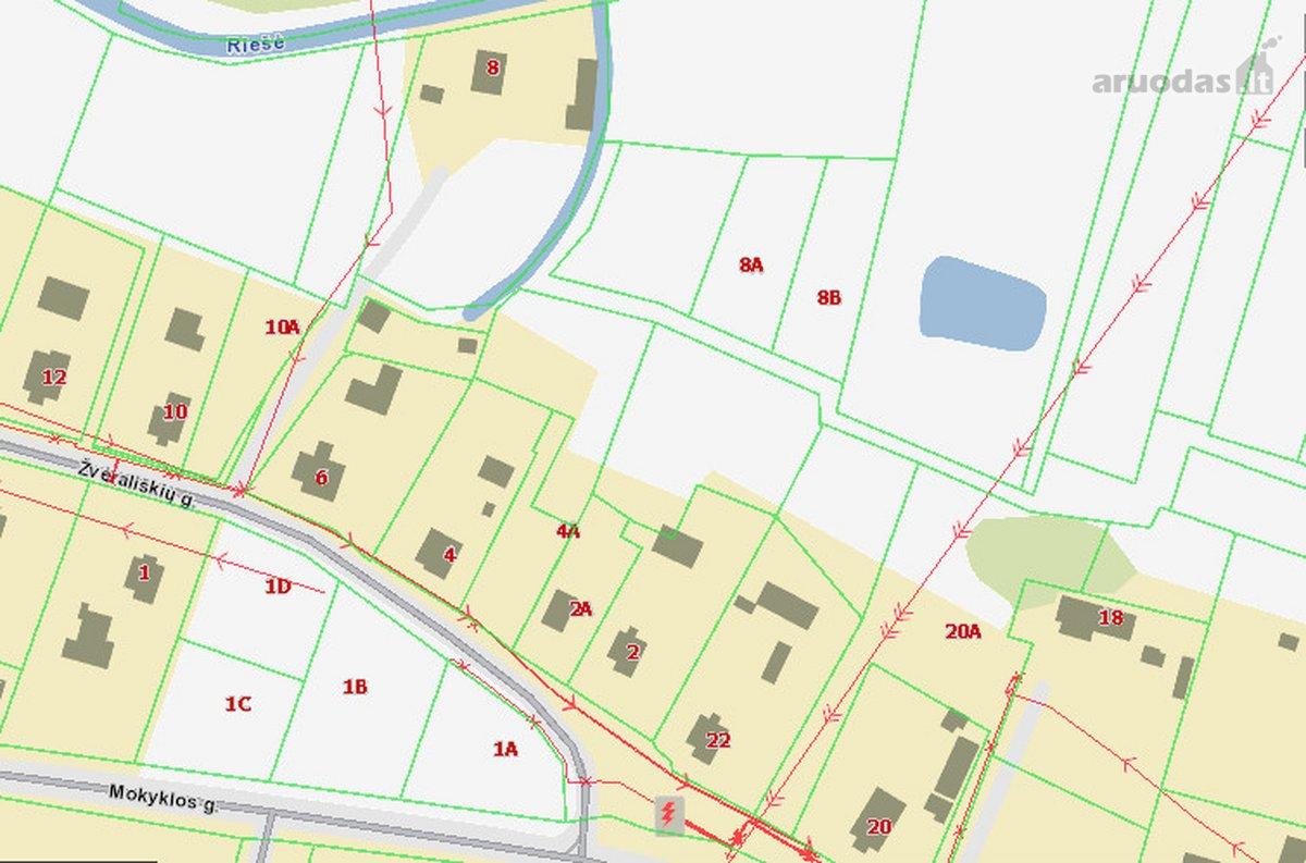Vilnius, Didžioji Riešė, namų valdos paskirties sklypas
