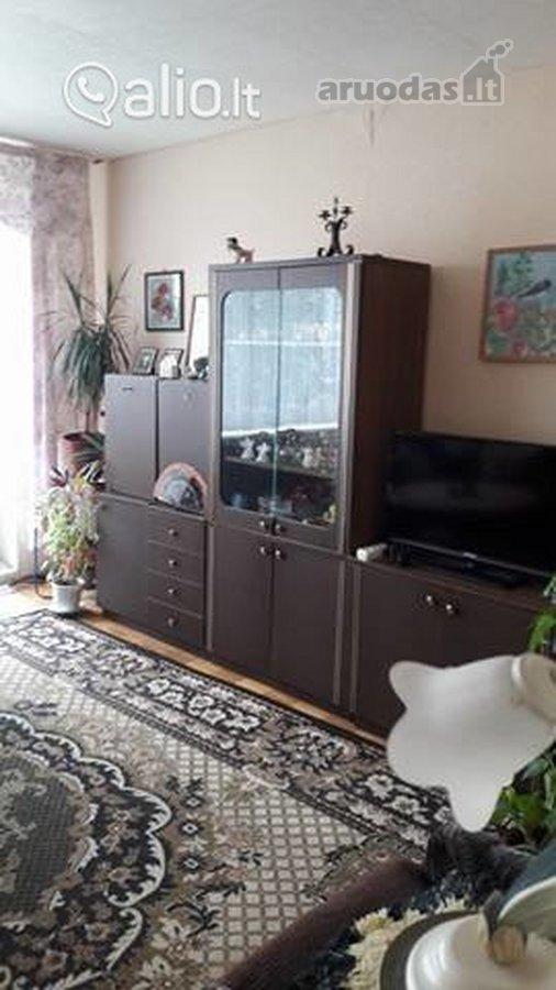 Jurbarko r. sav., Viešvilės k., 3 kambarių butas