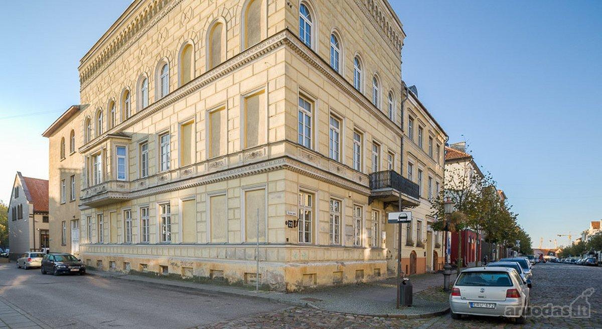 Klaipėda, Senamiestis, Turgaus g., 3 kambarių butas