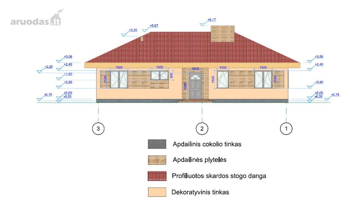 Vilnius, Trakų Vokė, Vaidagų g., mūrinis namas