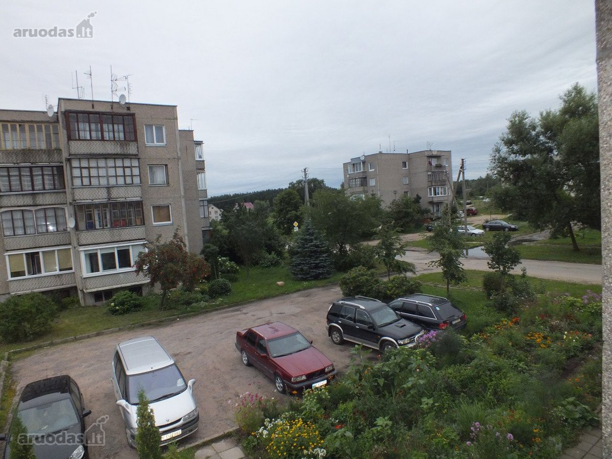Trakų r. sav., Rūdiškių m., Aušros g., 3 kambarių butas