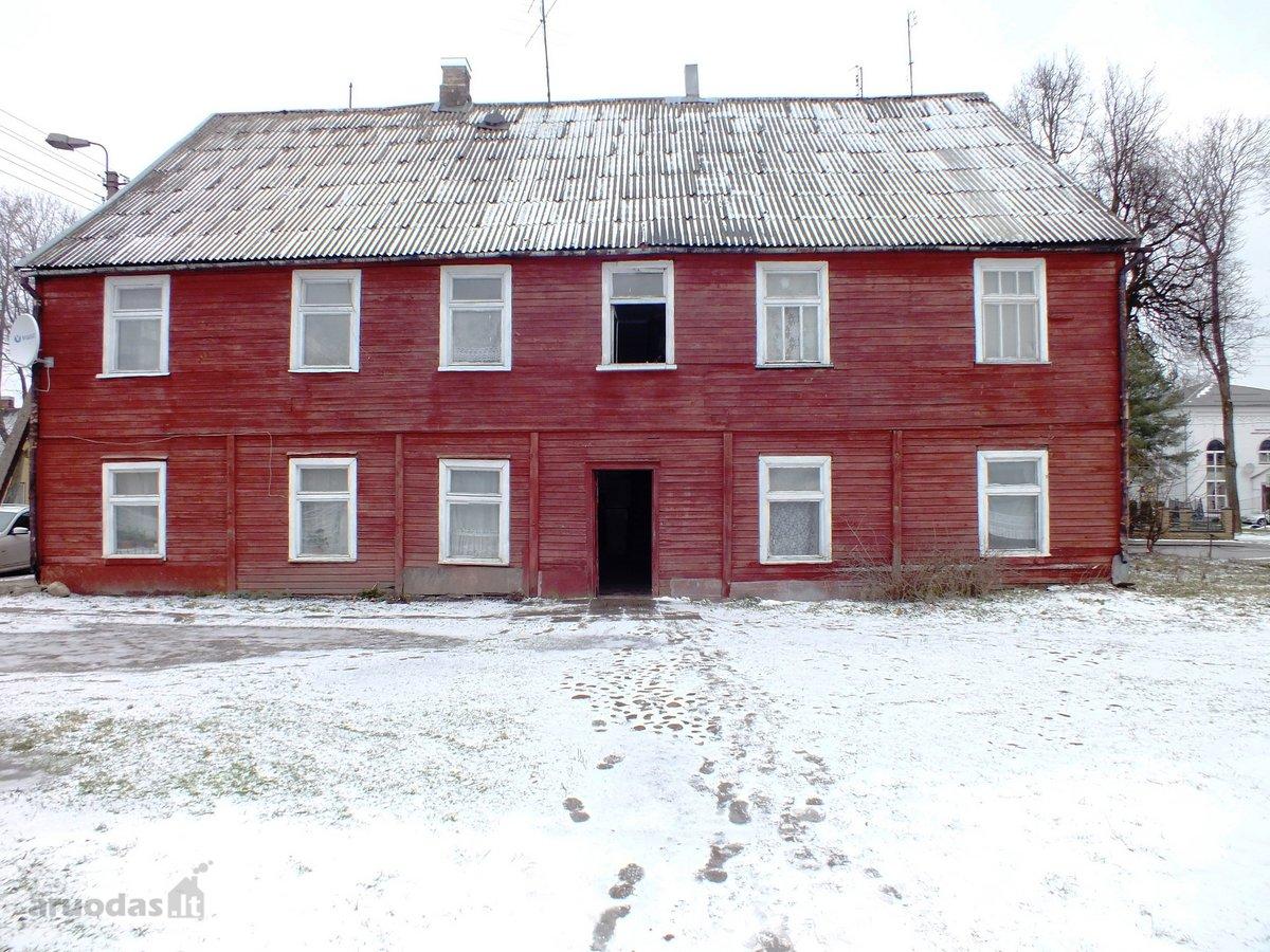 Biržų m., Kęstučio g., 2 kambarių butas