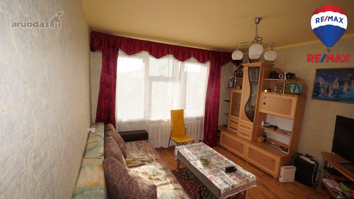 Vilkaviškio m., Statybininkų g., 1 kambario butas