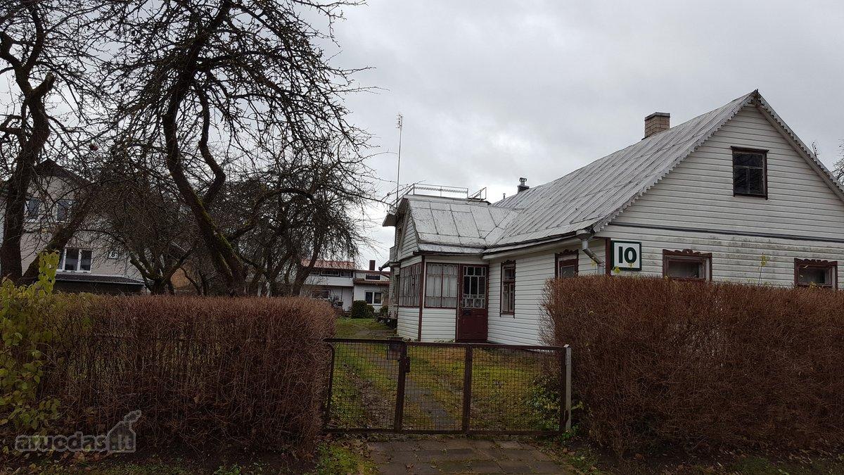 Druskininkų m., Antakalnio g., medinio namo dalis
