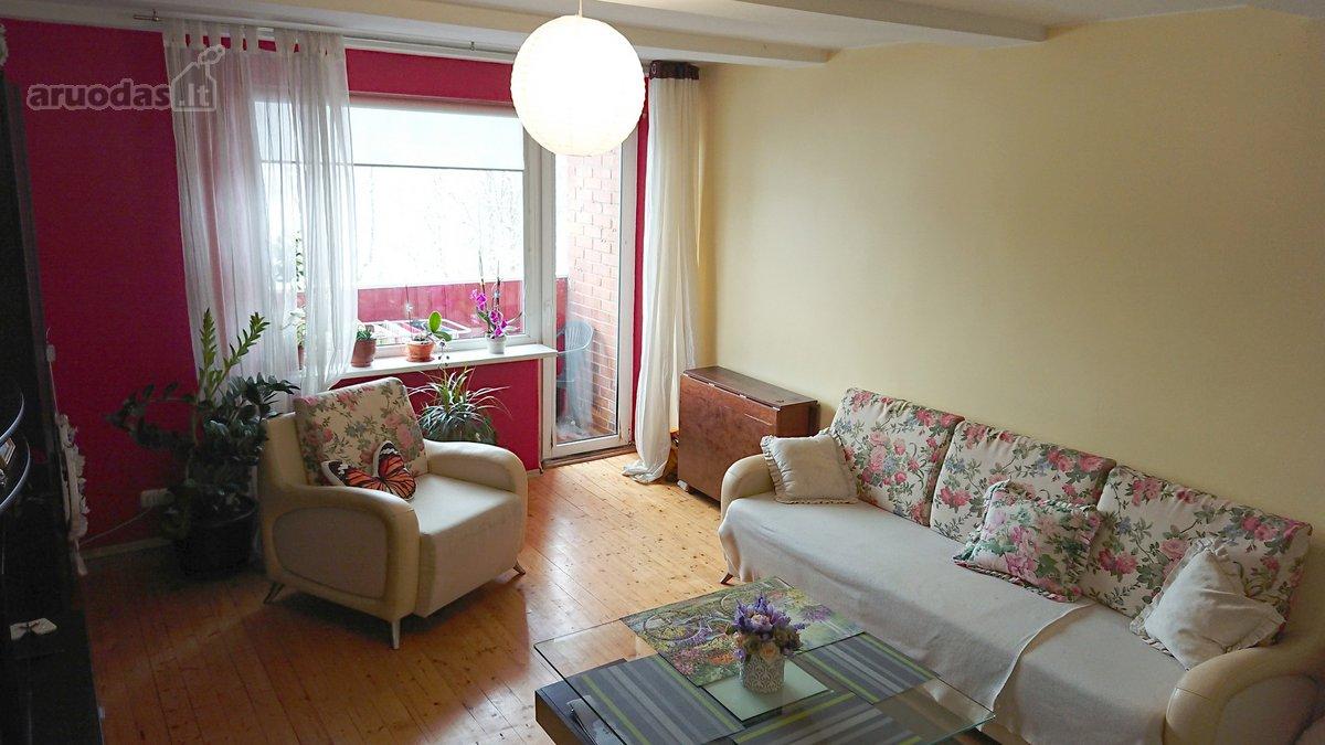 Panevėžys, Žemaičiai, Beržų g., 2 kambarių butas