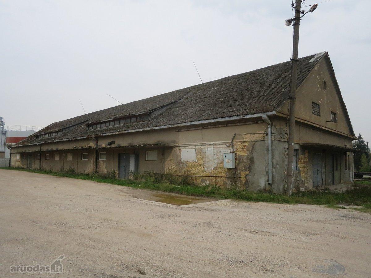 Kupiškio m., Gedimino g., warehousing purpose premises