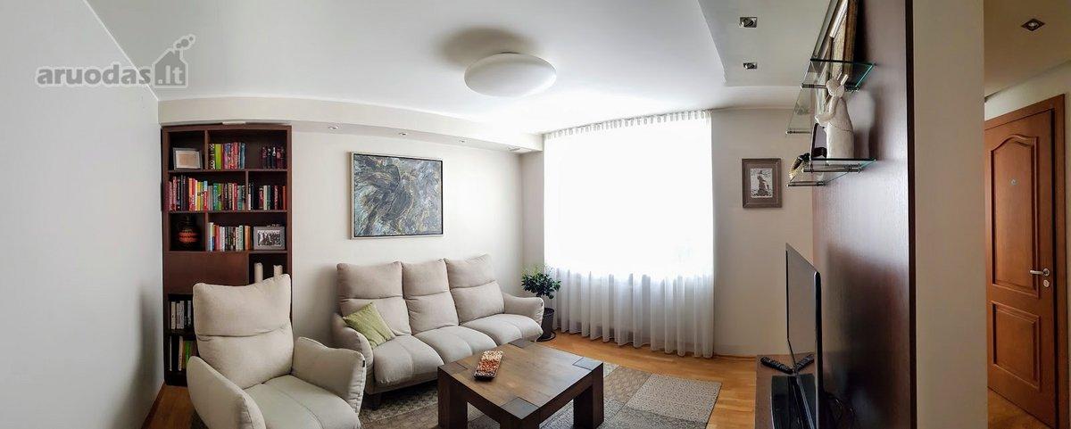 Vilnius, Žvėrynas, Sakalų g., 3 kambarių butas