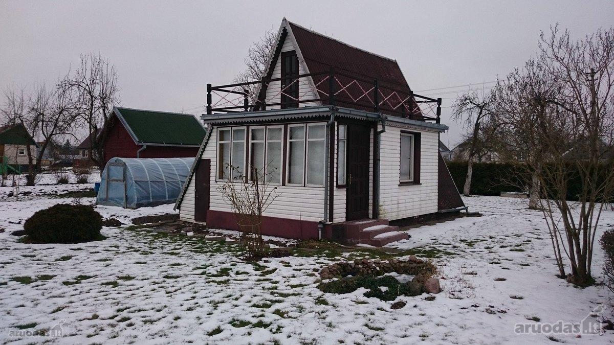Kaišiadorių m., Pavasario g., medinis sodo namas
