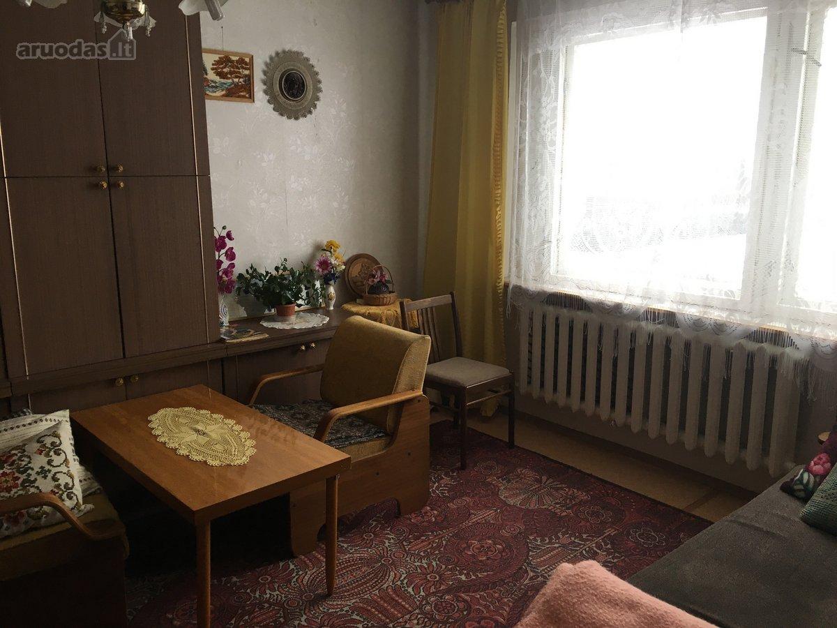 Plungės m., A. Jucio g., 1 kambario butas