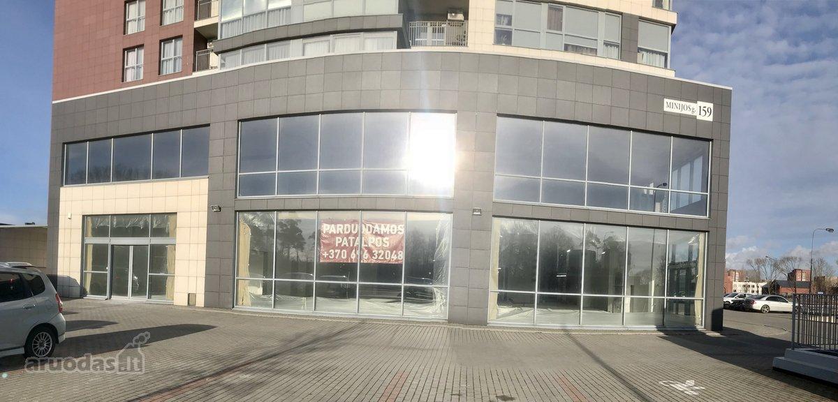 Klaipėda, Alksnynė, Minijos g., biuro, prekybinės, paslaugų, maitinimo, kita paskirties patalpos