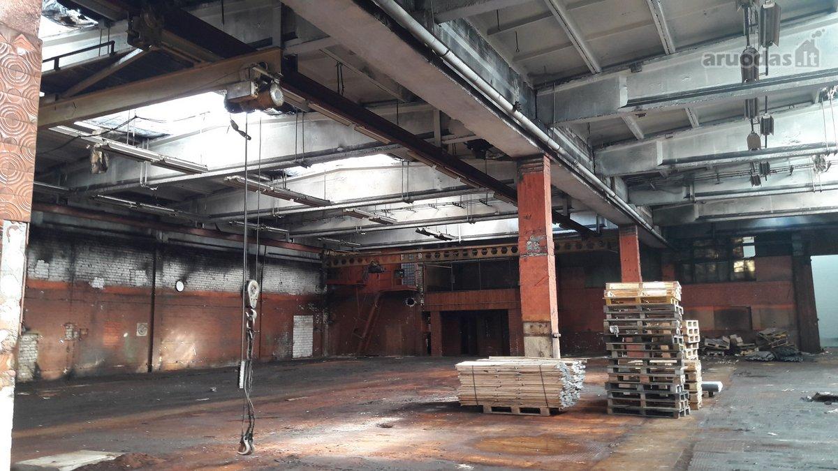Išnuomojamos gamybinės/sandėliavimo patalpos