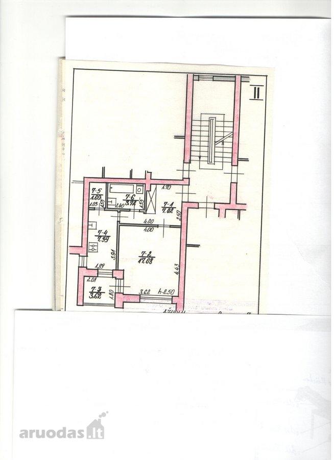 Molėtų m., Ąžuolų g., 1 kambario butas