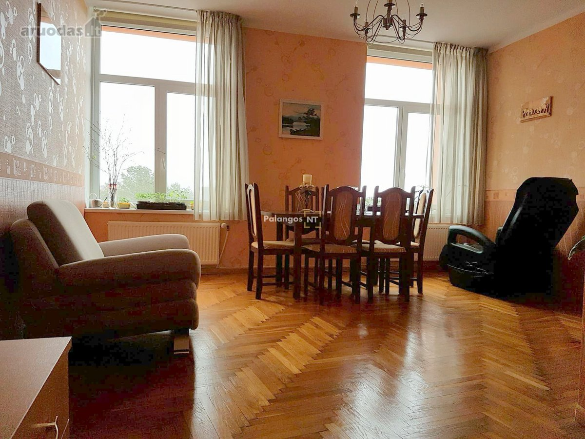 Palanga, Smilgų g., 3 kambarių butas