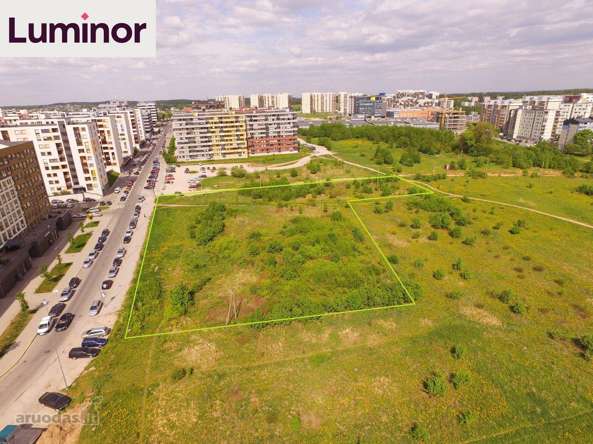 Vilnius, Pašilaičiai, Perkūnkiemio g., daugiabučių statybos, kitos paskirties sklypas