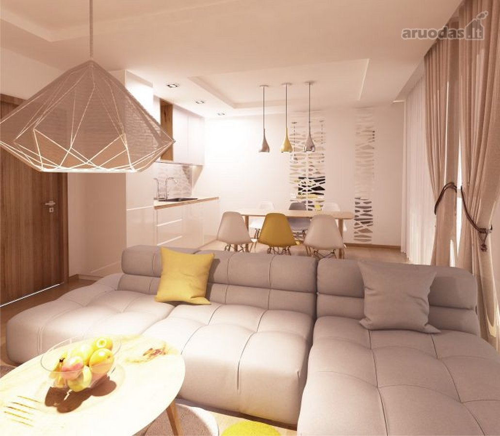 Kretingos m., Vilniaus g., 2 kambarių butas