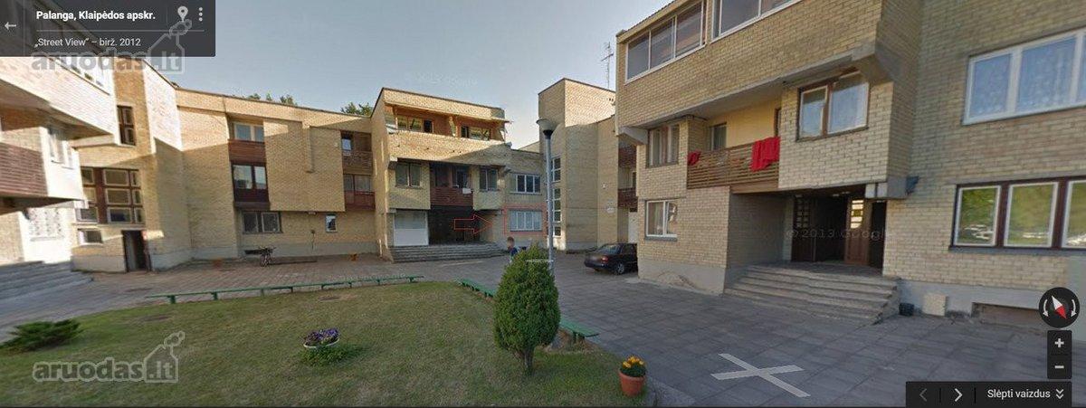 Palanga, Šventoji, Vilties takas, 2 kambarių butas