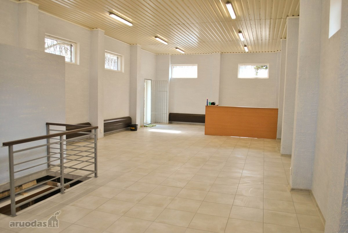 Kaunas, Kalniečiai, A. Ramanausko-Vanago g., biuro, prekybinės, paslaugų, sandėliavimo paskirties patalpos
