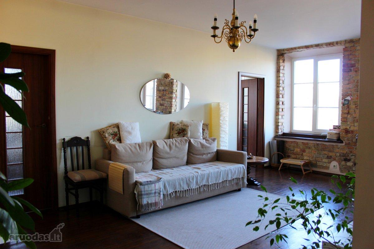 Vilnius, Naujamiestis, Mindaugo g., 4 kambarių butas