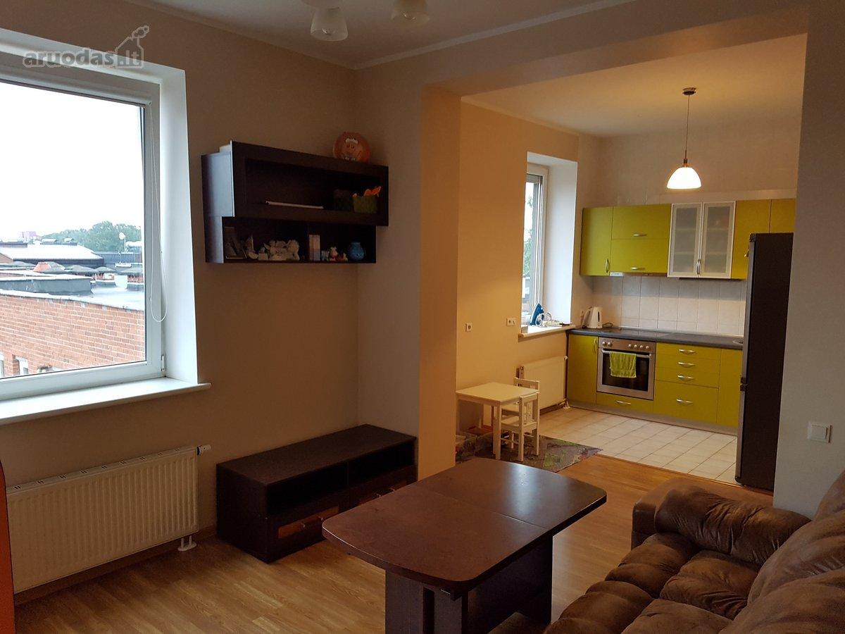 Vilnius, Justiniškės, Rygos g., 2 kambarių butas