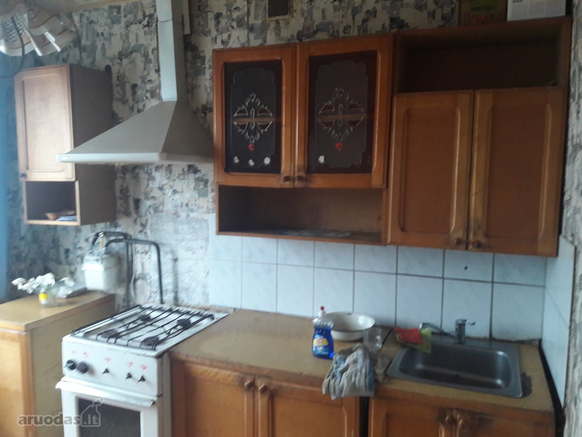 Mažeikių m., Pavenčių g., 2 kambarių butas
