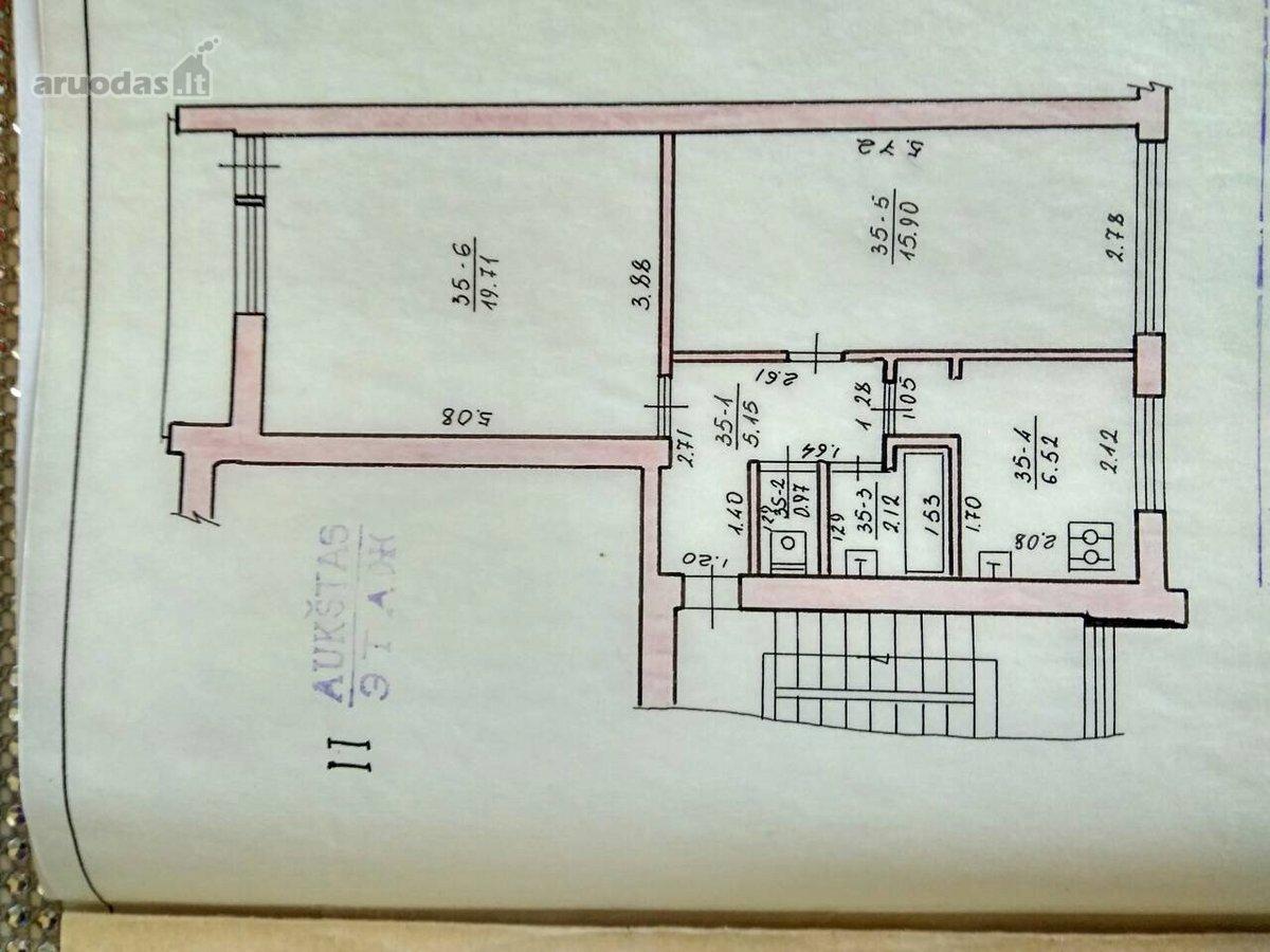 Vilnius, Naujamiestis, Švitrigailos g., 2 kambarių butas