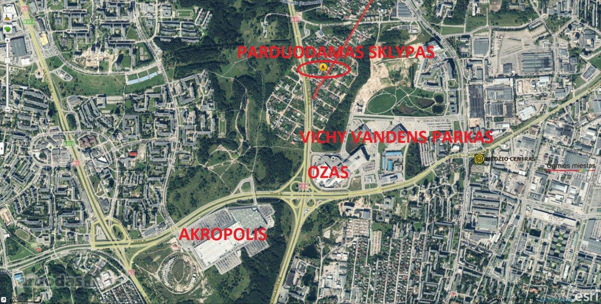 Vilnius, Baltupiai, Kolektyvo g., namų valdos, daugiabučių statybos paskirties sklypas