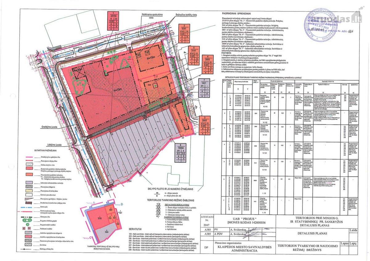 Klaipėda, Statybininkų pr., daugiaaukštės statybos, komercinės paskirties sklypas