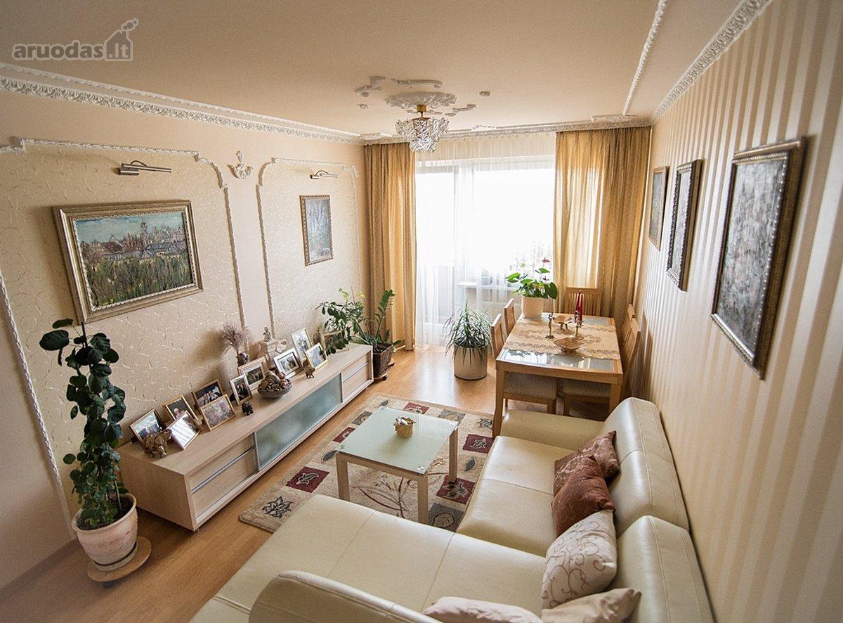Vilnius, Karoliniškės, Virginijaus Druskio g., 3 kambarių butas