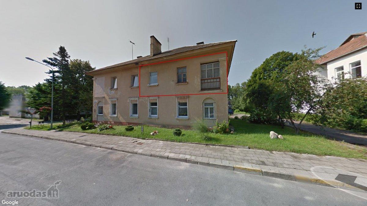 Lazdijų r. sav., Veisiejų m., Santarvės g., 3 kambarių butas