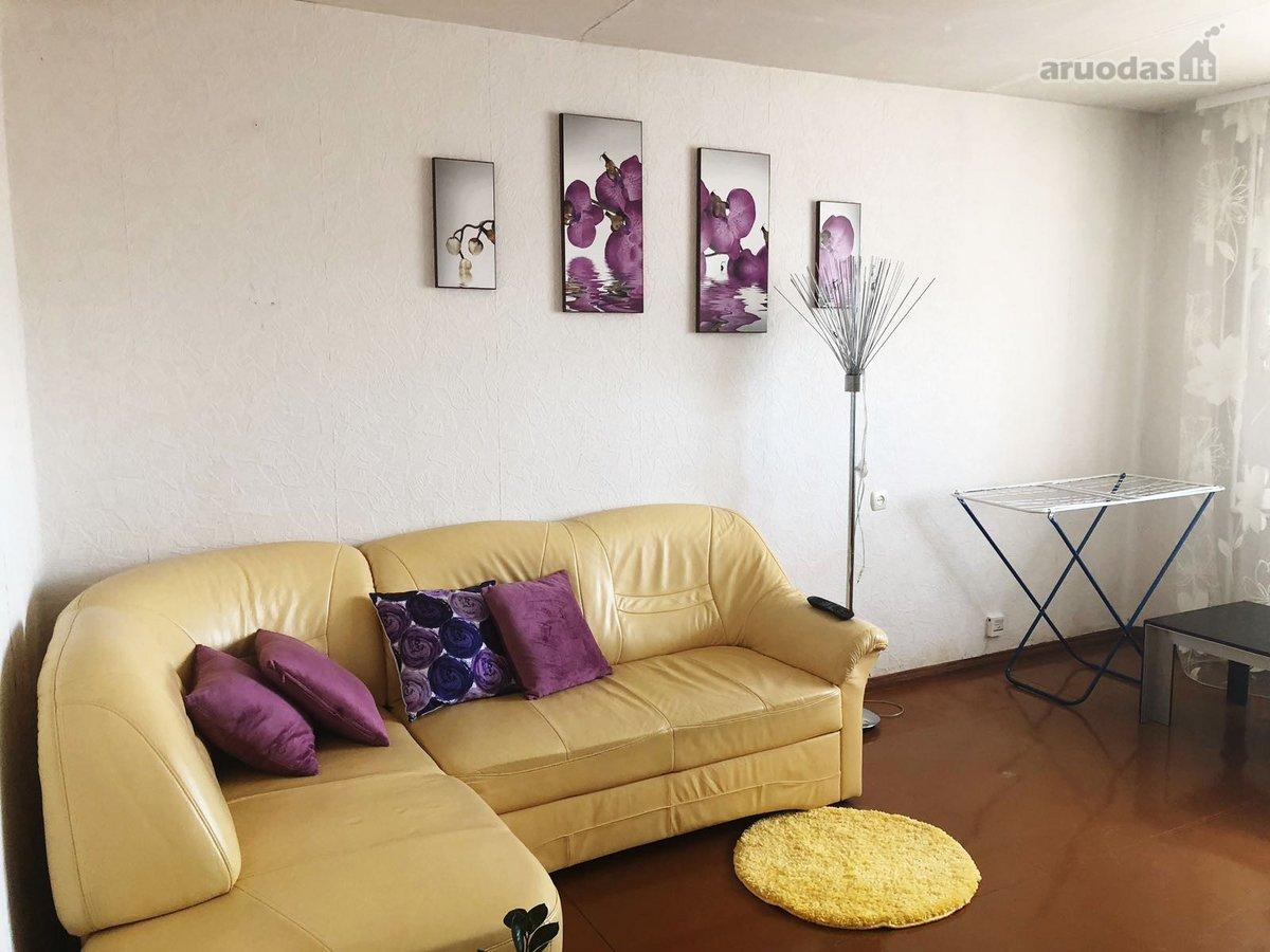 Zarasų m., S. Nėries g., 2 kambarių butas