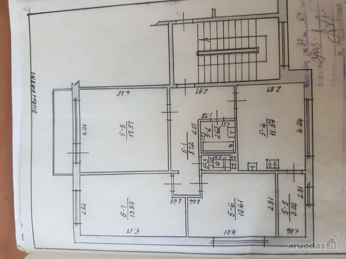 Kauno r. sav., Voškonių k., Pievų g., 3 kambarių butas