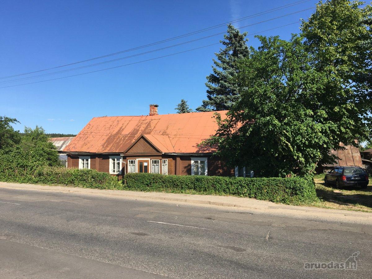 Kaišiadorių r. sav., Žiežmarių m., Žaslių g., wooden house