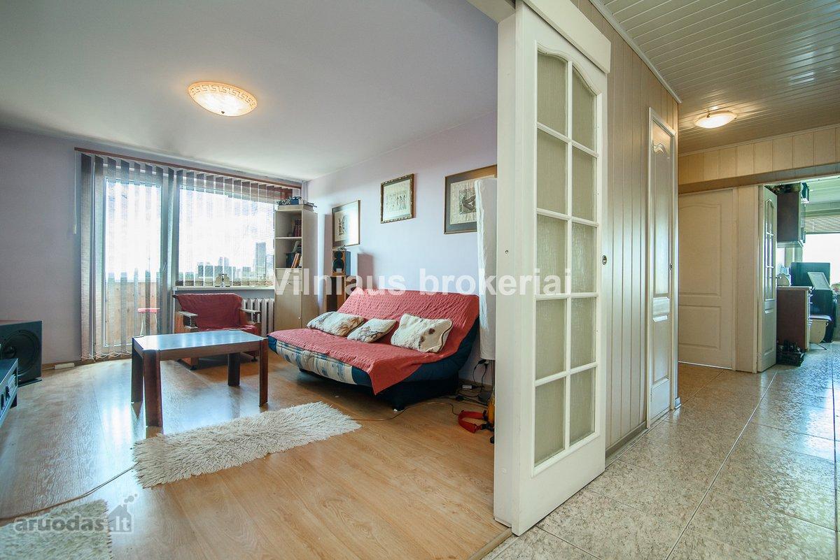 Vilnius, Žirmūnai, Šeimyniškių g., 3 kambarių butas