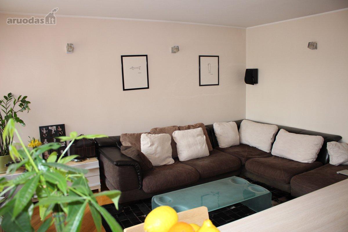 Kaunas, Žaliakalnis, A. Baranausko g., 4 kambarių butas