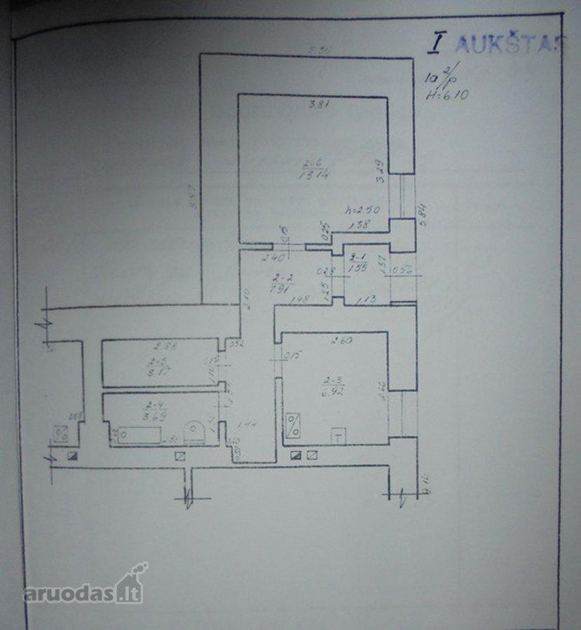 Ukmergės m., Vytauto g., 1 kambario butas