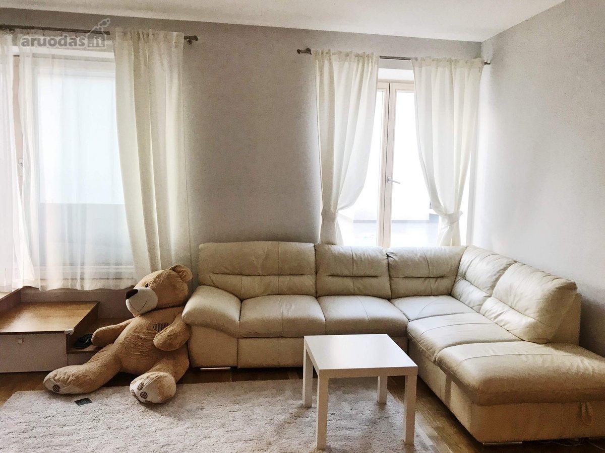 Vilnius, Užupis, Krivūlės g., 2 kambarių butas