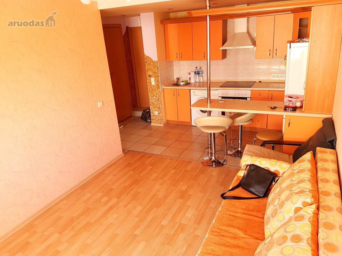 Jurbarko m., Žemaitės g., 2 kambarių butas
