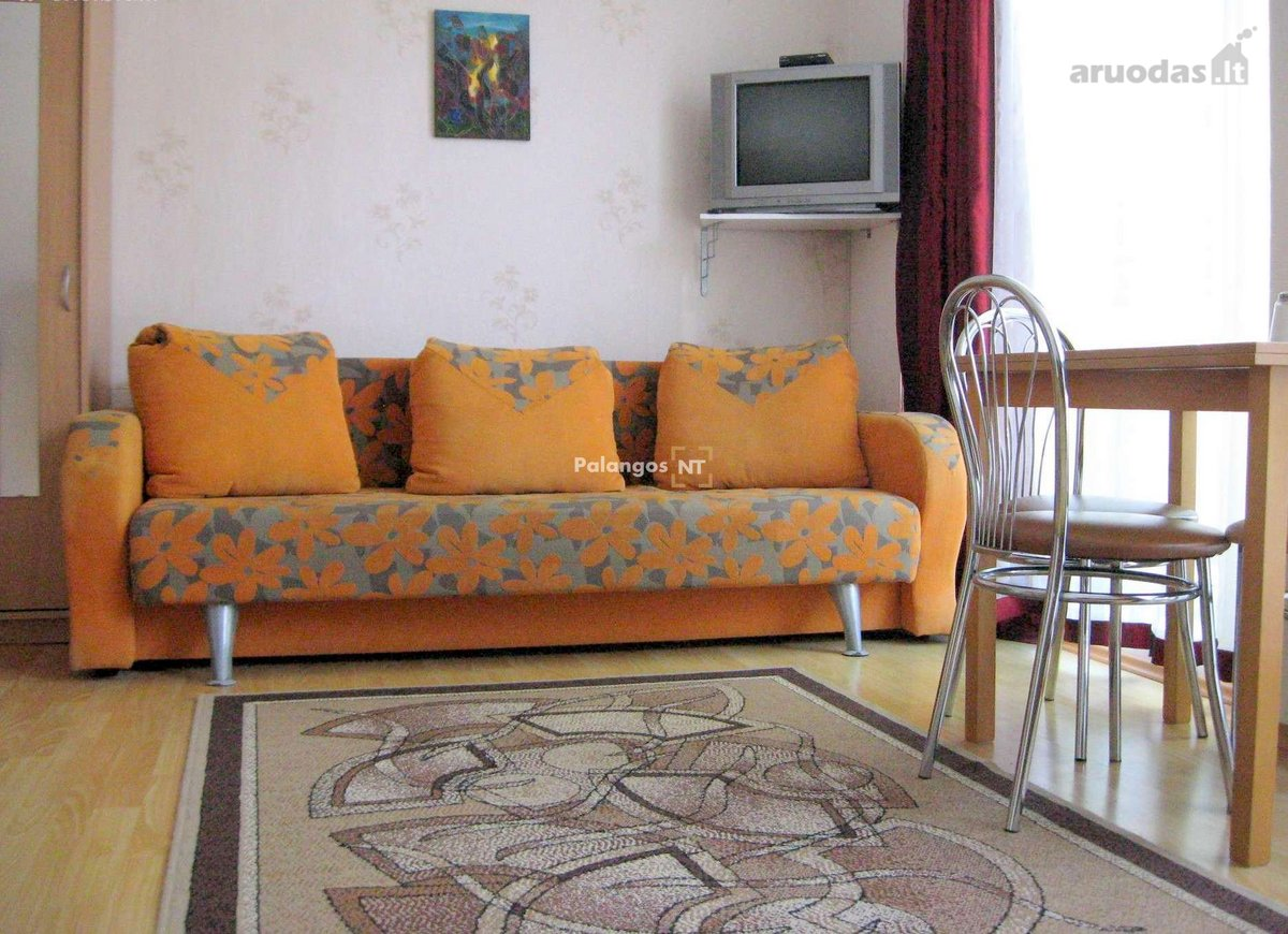 Palanga, Plytų g., 1 kambario butas